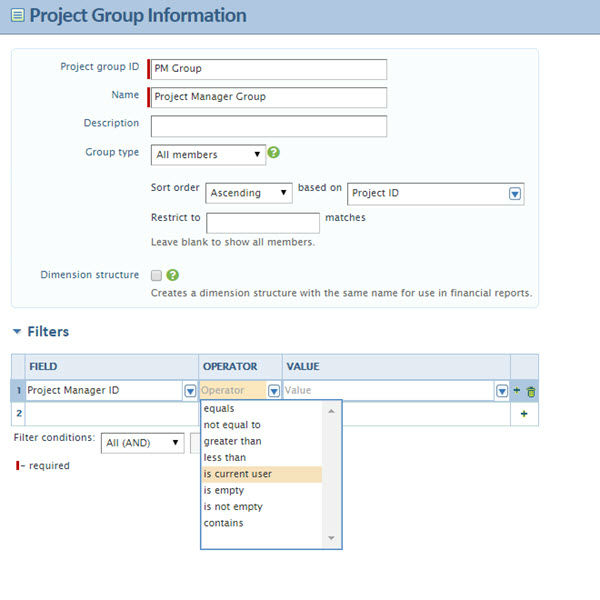 Filtering-For-Current-User-Project-Group