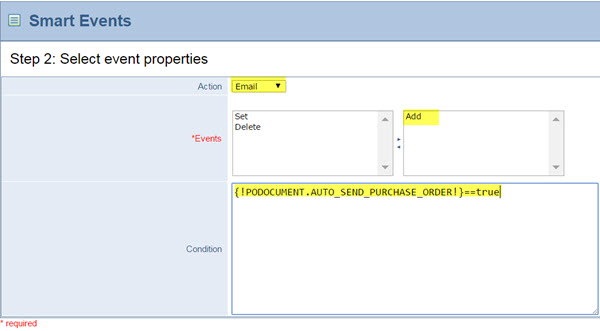 automating-emailing-purchase-orders-to-vendors-step2-smart-event-properties